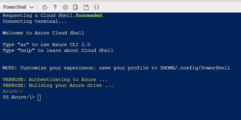 Azure Cloud CLI PowerShell Bash AZ RM… what